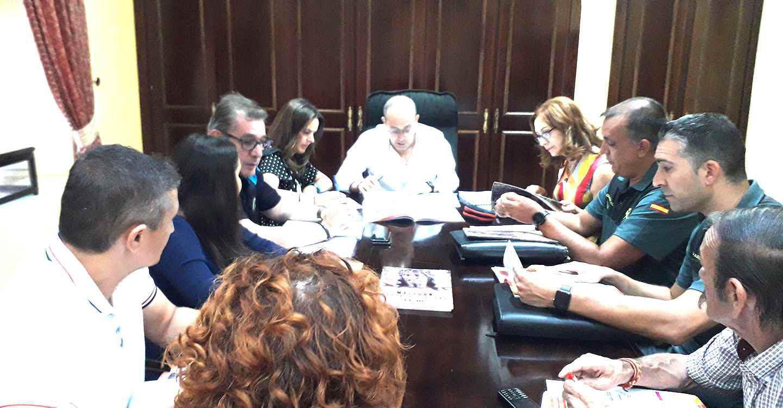 La subdelegada Herreros y Santos como alcalde accidental  ultiman el dispositivo de las Ferias y Fiestas 2019