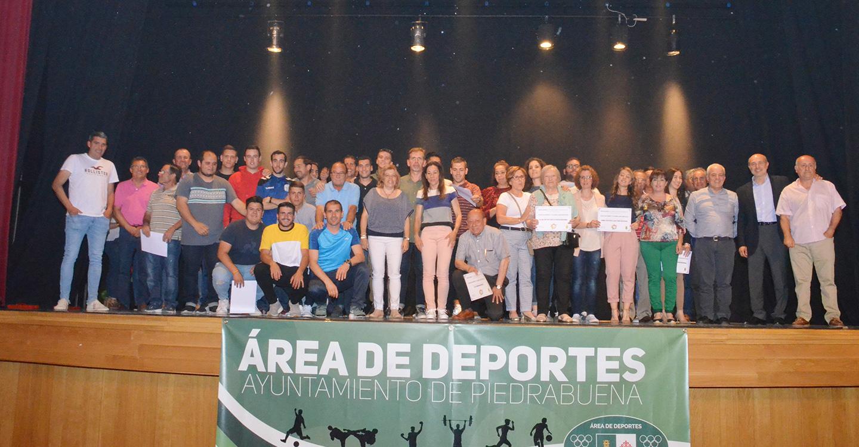 La III Gala del Deporte de Piedrabuena reúne a más de 500 personas para celebrar la pasión por la práctica deportiva en todas las edades