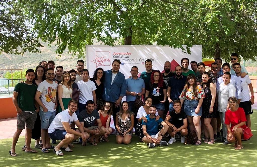 Las Juventudes Socialistas de Ciudad Real celebran en La Solana sus jornadas de formación con gran éxito de participación