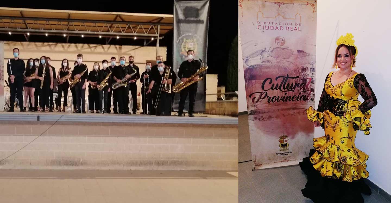Emoción y seguridad en el concierto de Laura García en Porzuna