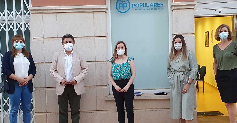 Leopoldo Sierra pone en valor el trabajo que realizan los grupos municipales del PP en los ayuntamientos ciudadrealeños