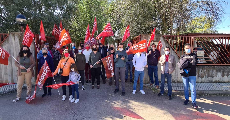 Las limpiadoras del Parque Nacional de Cabañeros secundan de forma unánime la huelga indefinida para exigir a la contrata 'Edifica Vías e Infraestructuras' el pago de sus salarios