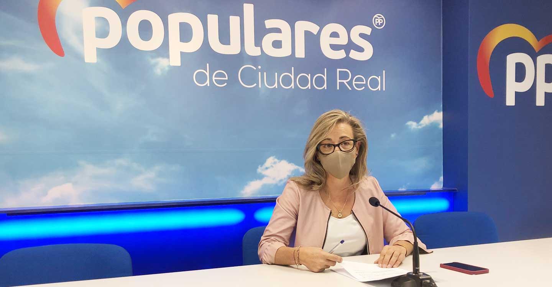 """Merino: """"En el PP seguiremos peleando hasta que Page deje de tocarle los bolsillos a los castellano-manchegos"""""""