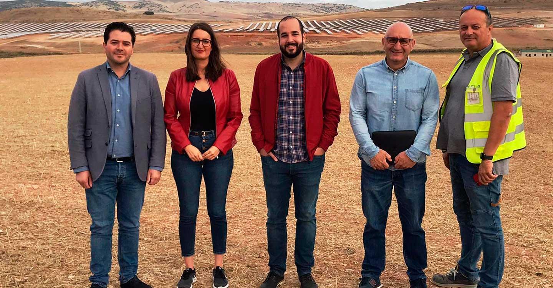 """Los candidatos al Congreso por Ciudad Real afirman que con Pedro Sánchez """"seguiremos conectados al tren de las energías renovables"""""""
