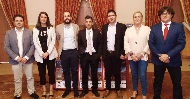 Los candidatos al Congreso y el Senado socialistas muestran su apoyo a la I Feria Nacional del Sector Primario de Moral de Calatrava