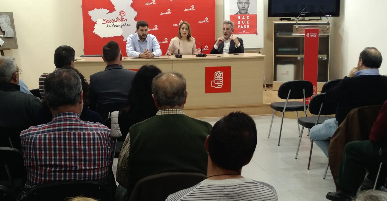 """Maestre: """"Pedimos el voto al PSOE con la convicción de que somos el único partido que garantiza estabilidad, futuro y consolidación de derechos"""""""