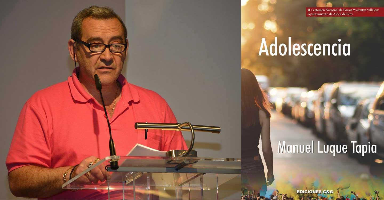 Novedad de Ediciones C&G para el mes de agosto: 'Adolescencia' de Manuel Luque Tapia