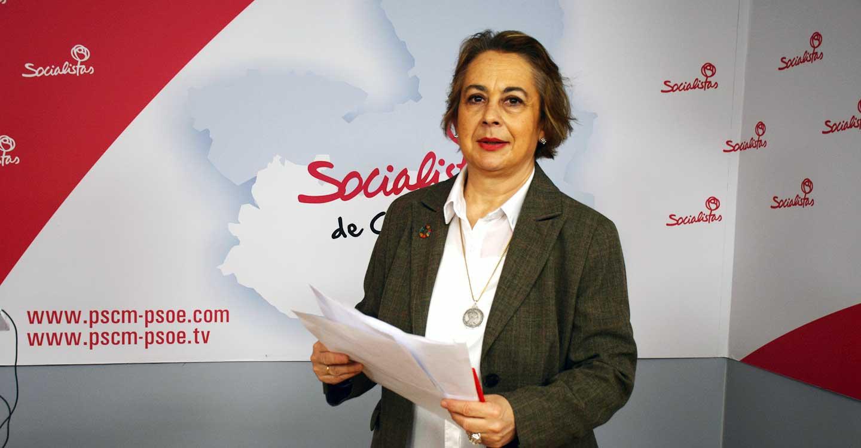 """Manuela Casado: """"El PSOE está a favor de la Comarca de Almadén, y la Junta de Comunidades también, y no puede aprobar una PNL que solo vende humo"""""""
