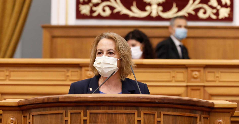 Manuela Casado defiende en las Cortes una docena de medidas para la re-industrialización y relanzamiento de la Comarca de Almadén