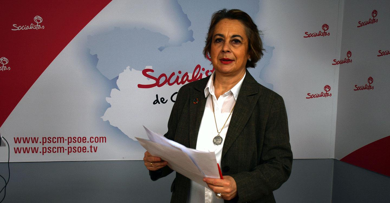 """Manuela Casado: """"El ambicioso Plan Adelante de García-Page, piensa en las empresas y en que los ciudadanos puedan optar a empleos estables"""""""