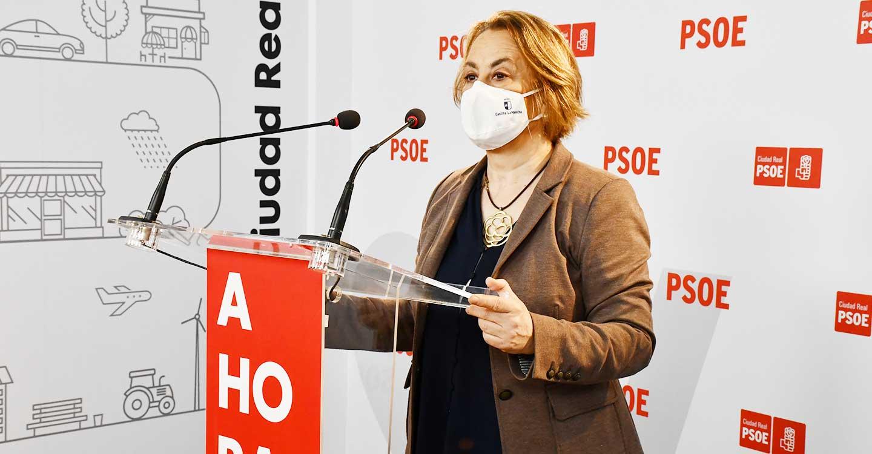 """Manuela Casado: """"Los castellano-manchegos no se creen que Núñez pretenda bajar los impuestos ya que cuando gobernó y fue alcalde, hizo justamente lo contrario"""""""