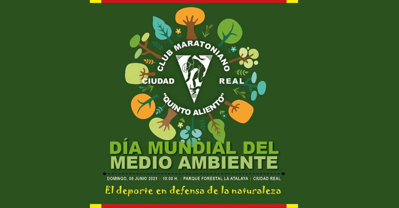 Patronato Municipal de Deportes de Ciudad Real y Quijote Maratón ADAD organizan las Jornadas sobre Deporte, Naturaleza y Medio Ambiente este 6 de junio