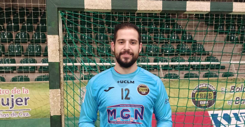 Mario Blanco defenderá la portería del BM Bolaños una temporada más