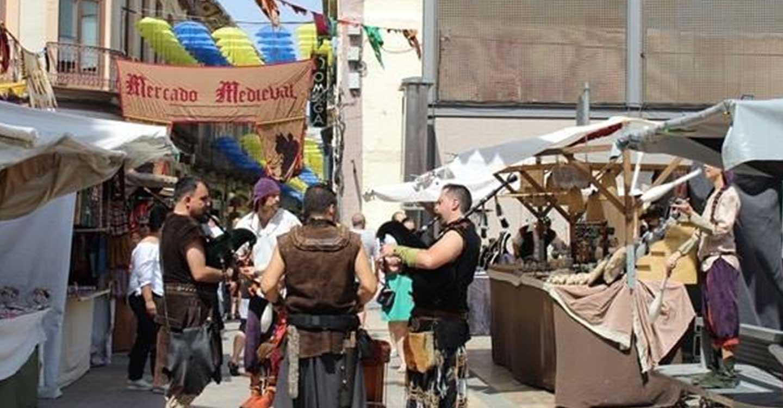 El XVIII Mercado Medieval y la música visten el mes de agosto en Valdepeñas