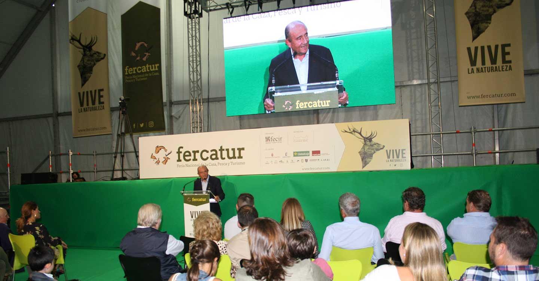 Merecido homenaje en FERCATUR al cazador Pepe Madrazo, Premio Weatherby 2019