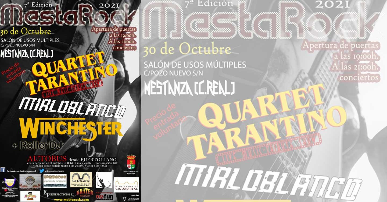 Mestarock regresa el sábado 30 de octubre para devolver las buenas vibraciones a toda la comarca