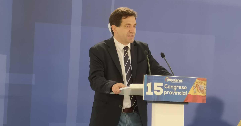 Miguel Ángel Valverde elegido presidente del Partido Popular de Ciudad Real con el 96% de los votos