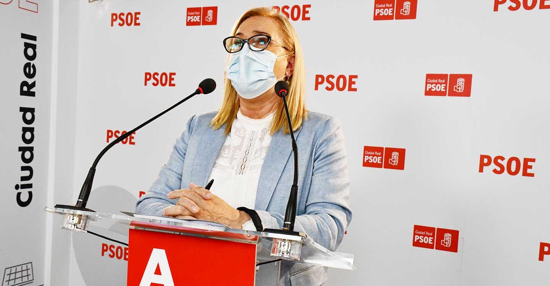 """Carmen Mínguez: """"Las decisiones que toma Pedro Sánchez en torno al precio de la luz, benefician a las personas y las del PP a las eléctricas"""""""