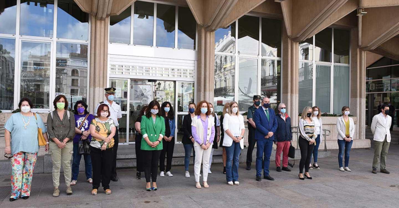 Minuto de silencio en Ciudad Real contra el último crimen machista