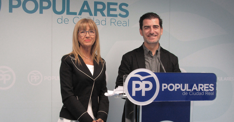 Mur y Poveda presentan las propuestas del programa electoral del PP sobre la Agenda 2030, igualdad y cooperación internacional