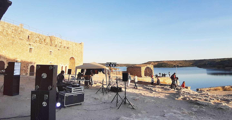 Música electrónica y de vanguardia de la mano de Zulo Room en el Castillo de Peñarroya