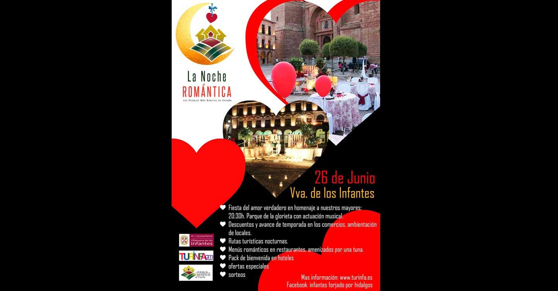 Noche romántica en Villanueva de los Infantes con la participación activa de Turinfa CM