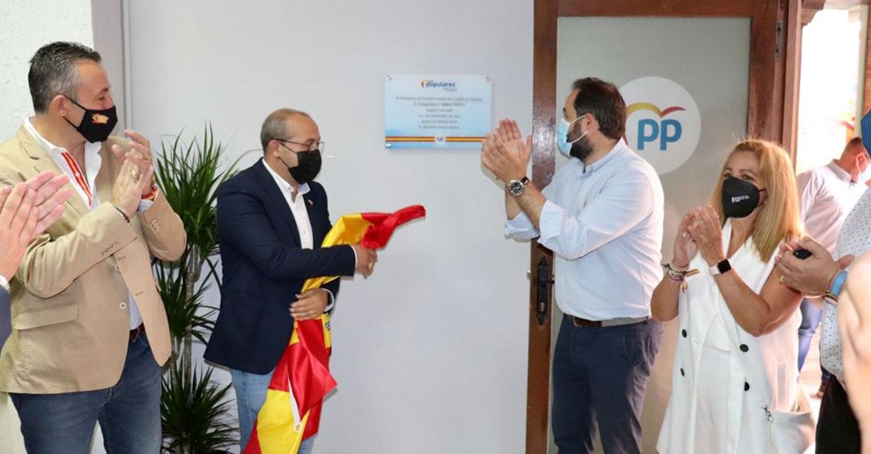 Núñez señala que la alternativa de ilusión, trabajo y oportunidades para Castilla-La Mancha que representa el PP es imparable