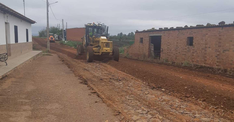 Las obras del arreglo de varios caminos de El Torno ya están en marcha