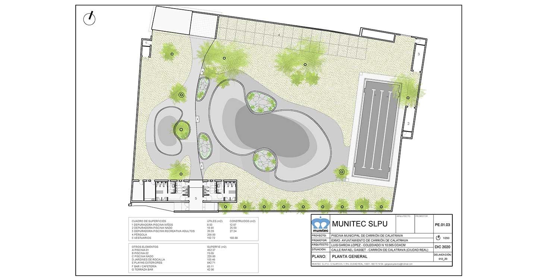 Comienzan las obras de construcción del nuevo complejo de piscinas de verano de Carrión de Calatrava