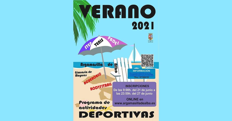 Regresan las actividades de verano del área de Deportes del Ayuntamiento de Argamasilla de Alba