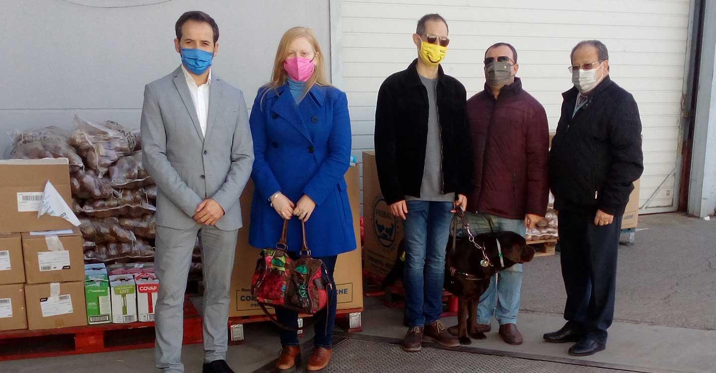 La ONCE dona más de 3.000 kilos de productos al Banco de Alimentos de Ciudad Real