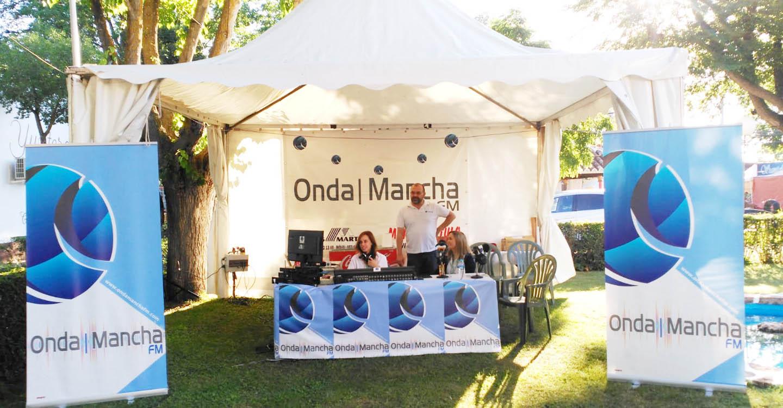 Onda Mancha FM Emite todos los días desde FERCAM 2019