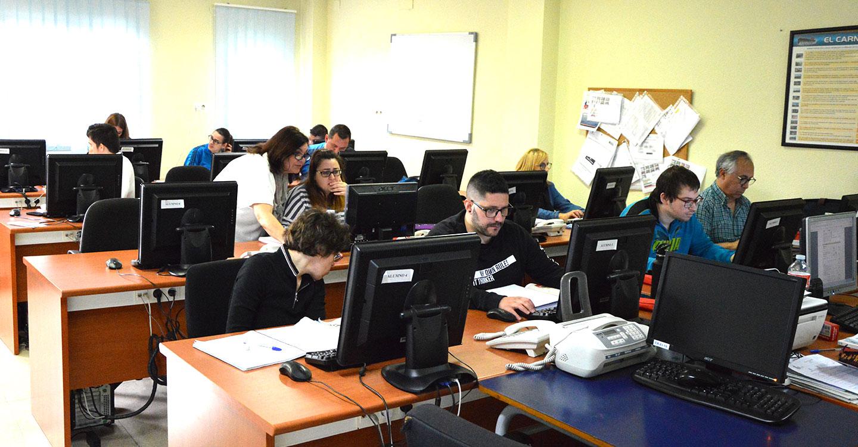 ORETANIA Ciudad Real imparte dos cursos formativos que benefician a 34 personas para conseguir un empleo