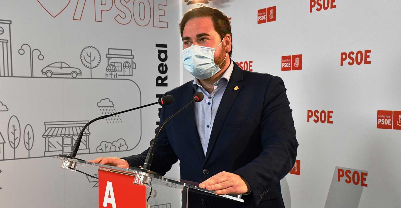 """Pablo Camacho: """"Hoy es un día muy feliz para Castilla-La Mancha, porque probablemente se alcancen las 2 millones de dosis administradas contra el COVID-19"""""""