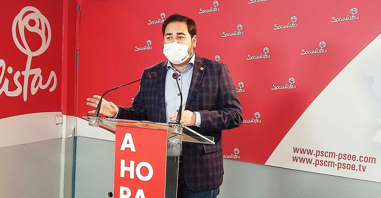 """Pablo Camacho: """"Con 400 millones de euros, C-LM es la región que más recursos económicos ha invertido para luchar contra el COVID-19"""""""