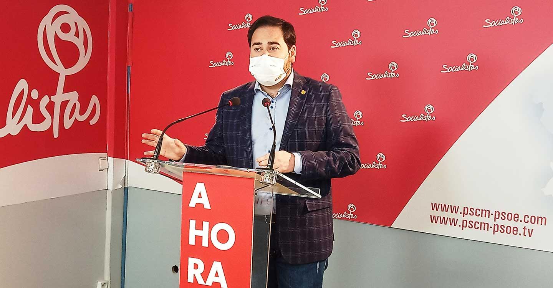 """Pablo Camacho: """"Pese al alarmismo e invenciones del PP, las medidas que el Gobierno regional ha tomado frente a la pandemia están dando buenos resultados"""""""