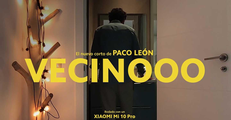 Paco León gana con 'Vecinooo' el primer premio del concurso 'Cortometrajes en Confinamiento' del VIII Corto Cortismo