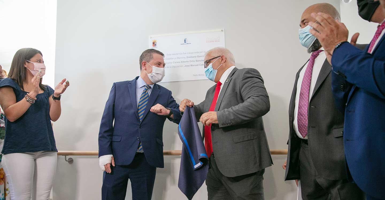 García-Page inaugura la residencia de mayores 'Cuna del Mayo' en la localidad ciudadrealeña de Pedro Muñoz