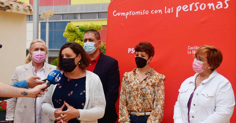 """Patricia Franco: """"El Gobierno de CLM es el que más ha invertido, tanto en gasto sanitario como en mantenimiento del tejido empresarial"""""""