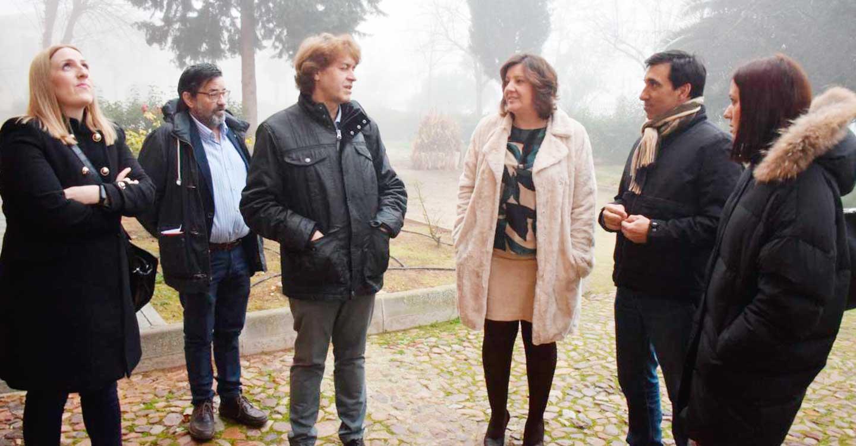 La consejera de Economía, Empresas y Empleo, Patricia Franco, visita Almagro y destaca el crecimiento de su potencial ante la llegada de los nuevos trenes turísticos