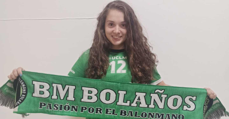 Patricia López Menchero renueva su compromiso con el filial del BM Bolaños
