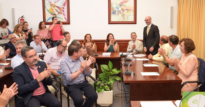 Pedro Ángel Jiménez, alcalde de Argamasilla de Alba, reelegido por unanimidad presidente de la Mancomunidad de Servicios Comsermancha