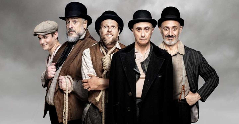 Pepe Viyuela encabeza el reparto de 'Esperando a Godot', el viernes 5 de marzo en Valdepeñas