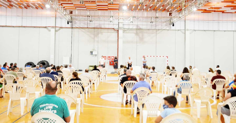 Piedrabuena acoge la primera asamblea informativa previa a la manifestación del 11 de agosto en defensa del río Bullaque
