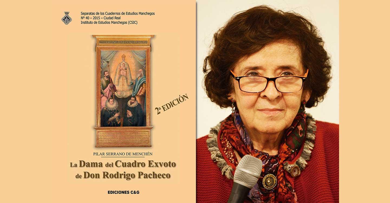 'La dama del cuadro exvoto de don Rodrigo Pacheco', de Pilar Serrano de Menchen, otra de las novedades que Ediciones C&G ha preparado para el mes de agosto