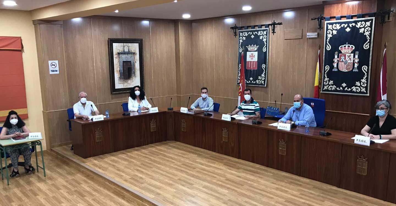 El pleno de la Corporación de Villarrubia de los Ojos aprobó la exención del pago de diversas tasas municipales para ayudar a las PYMEs locales