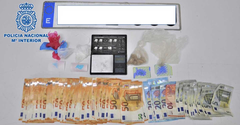 La Policía Nacional desactiva un punto de venta de drogas situado en una vivienda unifamiliar de Ciudad Real