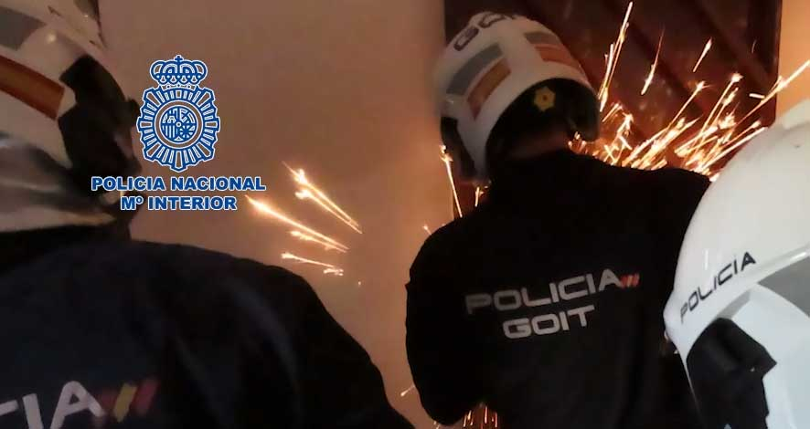 La Policía Nacional desmantela el principal punto de venta de heroína y cocaína de Ciudad Real