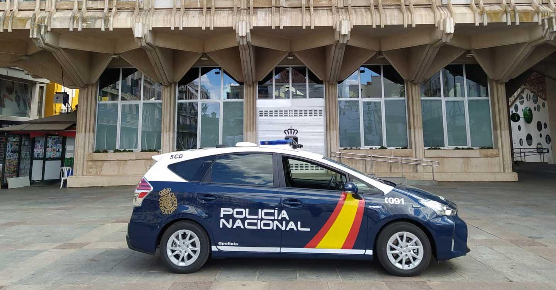 La Policía Nacional detiene a dos personas en Ciudad Real y logra evitar un robo en domicilio
