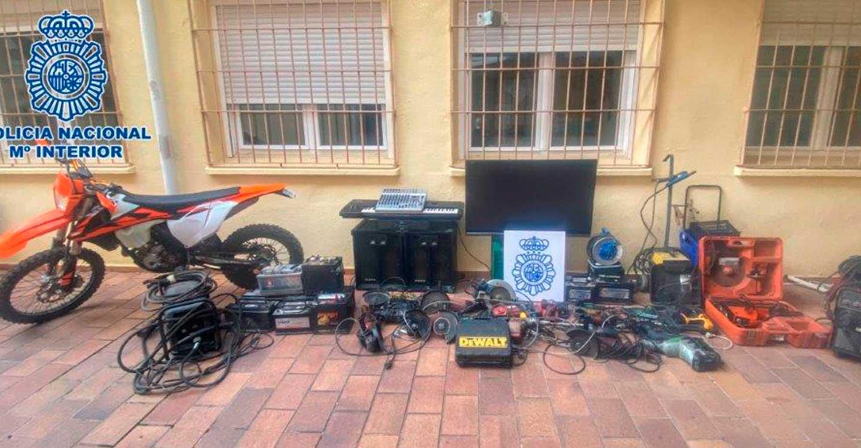 La Policía Nacional detiene a una pareja que cometió siete robos con fuerza en Alcázar de San Juan